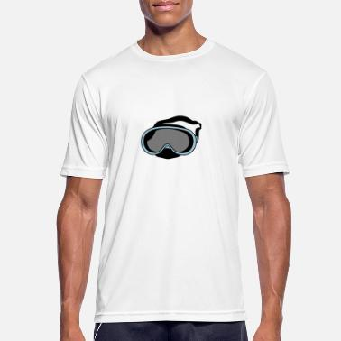 Diving Mask diving mask - Men's Sport T-Shirt