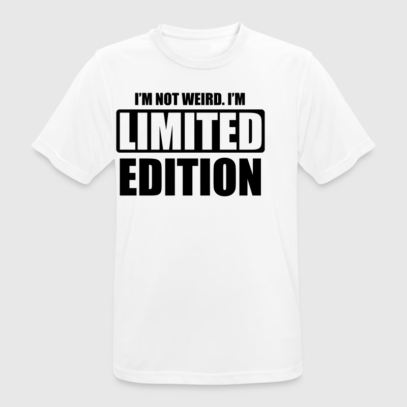 I'm not weird, I'm limited edition - Men's Breathable T-Shirt