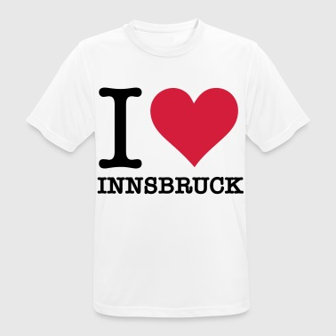 I Love Innsbruck - Men's Breathable T-Shirt