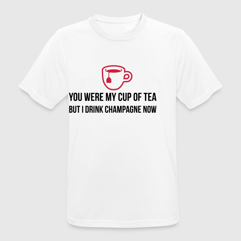 You used to be my cup of tea .... - Men's Breathable T-Shirt