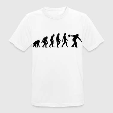 The Evolution of Bowling - Men's Breathable T-Shirt