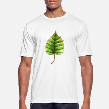 Linden Leaf of a linden - Men's Sport T-Shirt