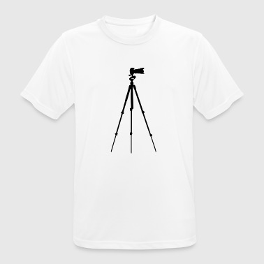 Photographer / Tripod / Camera Gift / Gift Idea - Men's Breathable T-Shirt