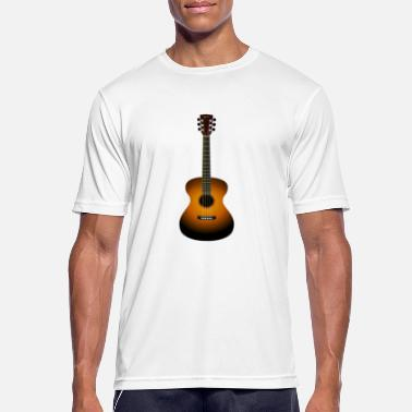 Acoustic Guitar Acoustic guitar - Men's Sport T-Shirt