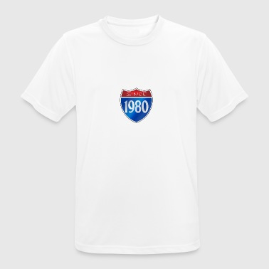 Since 1980 Since 1980 - Men's Breathable T-Shirt