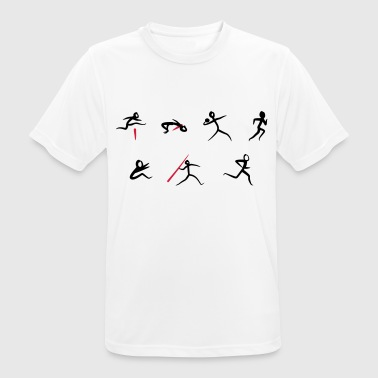 Atletismo Decathlon, atletismo - Camiseta hombre transpirable
