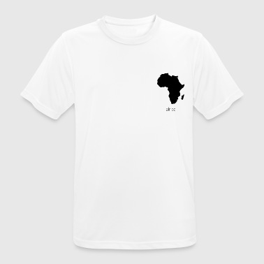 Africa - Africa breast logo - Men's Breathable T-Shirt