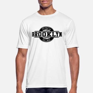 99ae4478d5745 Brooklyn New York City EST. Mode 1631 - T-shirt sport Homme