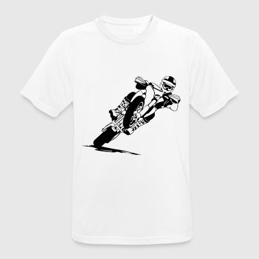 Supermoto Supermoto Racing - Men's Breathable T-Shirt