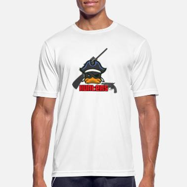 Duck Pirate Hunter duck quack - Men's Breathable T-Shirt