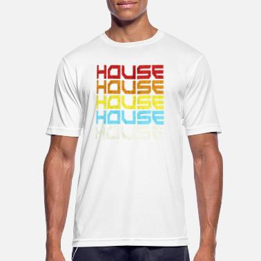 Old School Rave House Music Old School Retro Style Gift Idea - Men's Breathable T-Shirt