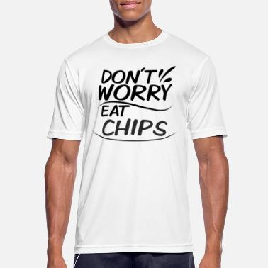 Chip chips - mannen T-shirt ademend