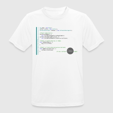 C I am a Software Developer - Men's Breathable T-Shirt