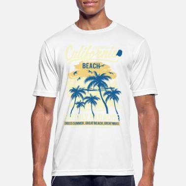 Surfing Surfing surfing christmas sun beach waves - Men's Breathable T-Shirt