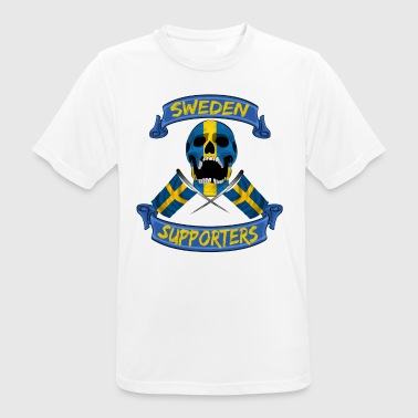 Ibrahim Sverige fan supporter shirt - Herre T-shirt svedtransporterende