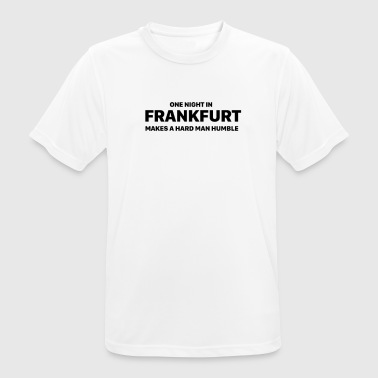 One night in Frankfurt - Men's Breathable T-Shirt