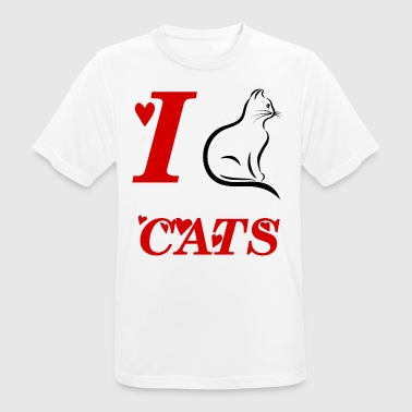 CAT. GIFT SHOP gatos domésticos TIGRE MIAU - Camiseta hombre transpirable