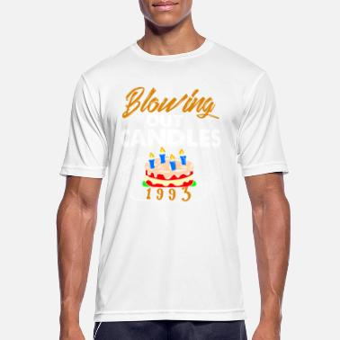 Blow Out Blowing Out Candles Since 1993 - Men's Breathable T-Shirt