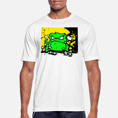 Green Street Street monster - Men's Breathable T-Shirt