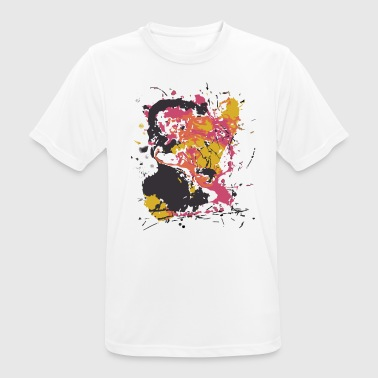 Colored spot 2 - Men's Breathable T-Shirt