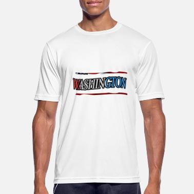Washington Washington - Men's Breathable T-Shirt