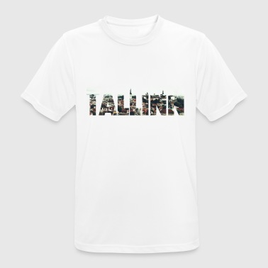 Tallinn Estonia Photoart City City Old Town - Men's Breathable T-Shirt