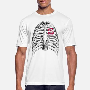 Kettlebell Heart // CrossFit Kettlebell Love - Men's Breathable T-Shirt