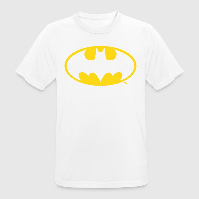 DC Comics Batman Logo in gold-metallic Optik - Männer T-Shirt atmungsaktiv