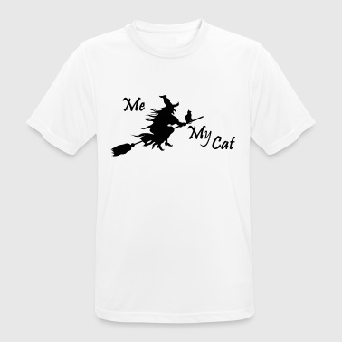 My Cat and Me -Dreamteam - mannen T-shirt ademend