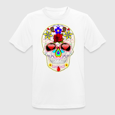 Mexican skull - T-shirt respirant Homme