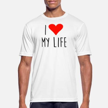 I Love My Sisters ❤ i love my life - T-shirt respirant Homme
