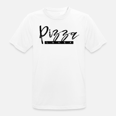 Funny Pizza Pizza lover - Men's Breathable T-Shirt