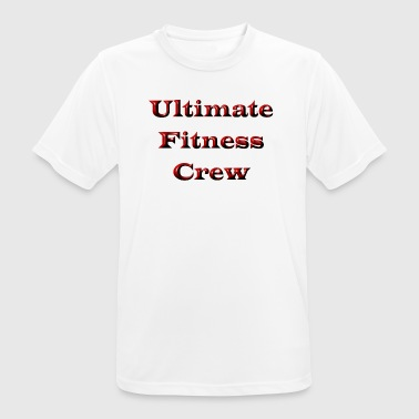 Ultimate Fitness Crew - Men's Breathable T-Shirt