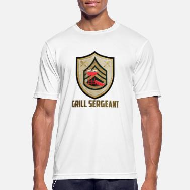 Sergeant Grill sergeant - Men's Breathable T-Shirt