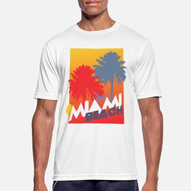 Miami Beach Miami Beach - Men's Breathable T-Shirt