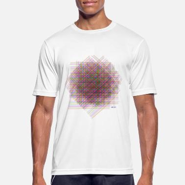 Animo Colorful Grid - Männer T-Shirt atmungsaktiv