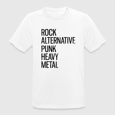 Punk Rock Punk Cadeau Musique Rock Alternative Band Punker - T-shirt respirant Homme