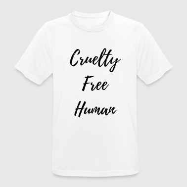 Cruelty Free Cruelty Free - Men's Breathable T-Shirt