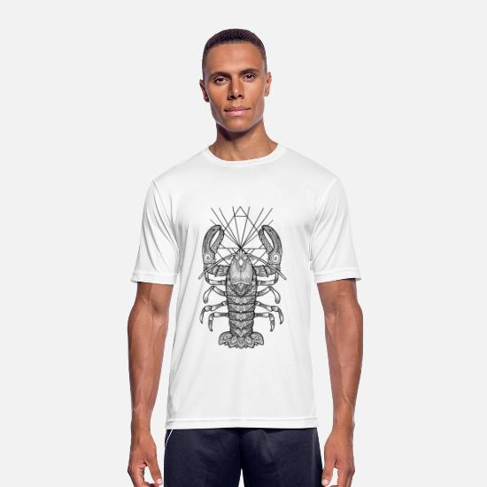 Bestsellers Q4 2018 T-Shirts - Geometric Lobster - Men's Sport T-Shirt white