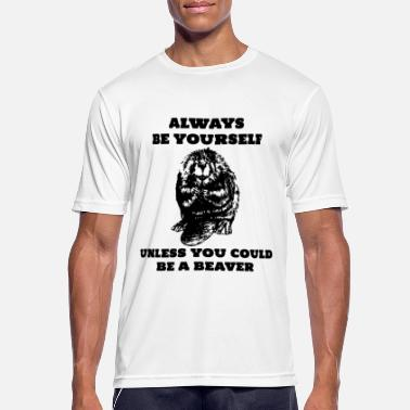 Bieber Be Yourself Bieber - Männer Sport T-Shirt