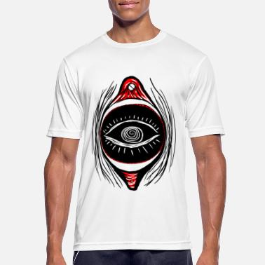 Three-eyed One-eyed voyeur - Men's Breathable T-Shirt