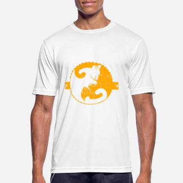 Cat Gift Idea Idea Ying Yang Puss - Men's Sport T-Shirt
