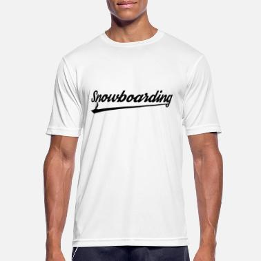 Snowboard Snowboard Snowboard Snowboard - T-shirt sport Homme