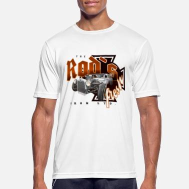 Bikes And Cars Collection rod's fresh - Mannen sport T-shirt