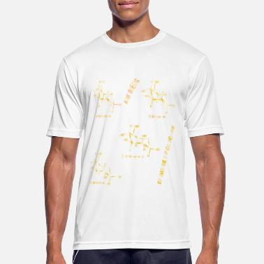 Molécule Anomers and Epimers - Rosie Aldrich - T-shirt sport Homme