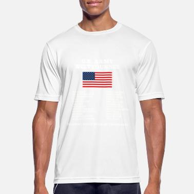 Us Army US Army World Tour - Mannen sport T-shirt