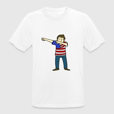 Patriotic American patriot - Men's Breathable T-Shirt