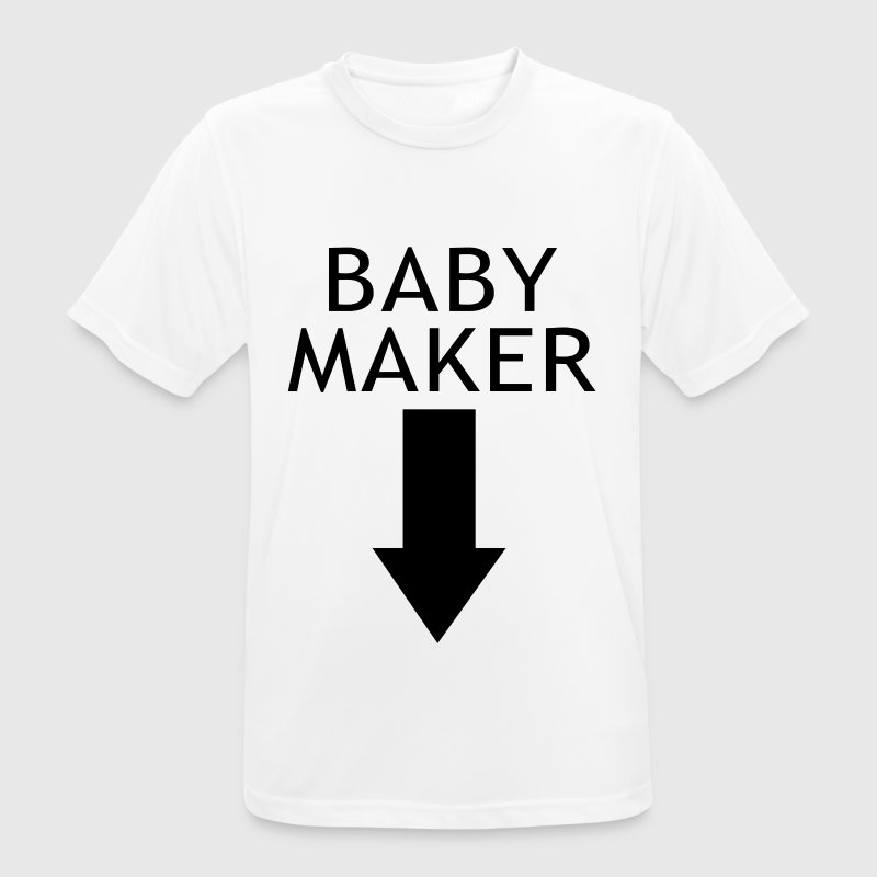 baby maker - Men's Breathable T-Shirt