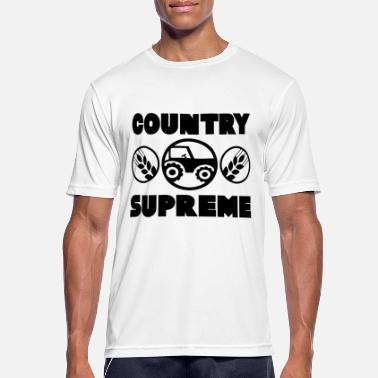 Country Country Life - Farmer Tractor Boy - Men's Sport T-Shirt