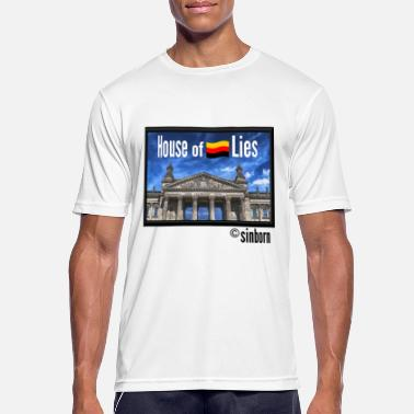 Rigsdagen House of Lies - House of Lies - Reichstag - Sports T-shirt mænd